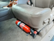 FM11 Front Seat Fire Extinguisher Mount, Toyota Tundra ALL Years